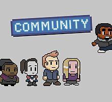 Pixel Community by Painhax