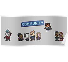 Pixel Community Poster