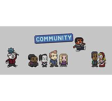 Pixel Community Photographic Print