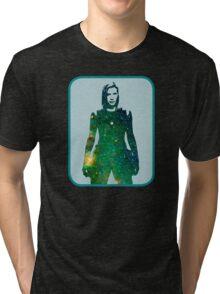 Starbuck - Battlestar Galactica Tri-blend T-Shirt