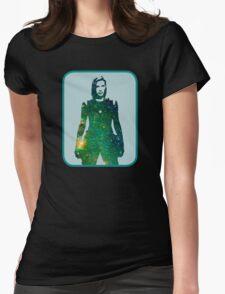 Starbuck - Battlestar Galactica Womens Fitted T-Shirt