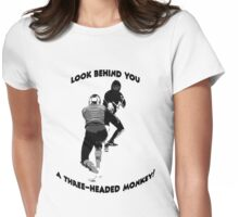 Monkey Island fencing commision Womens Fitted T-Shirt