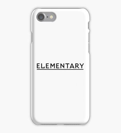 Elementary iPhone Case/Skin