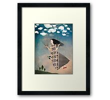 Bird House Framed Print