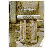 Ancient Altar of Hagar Qim Poster