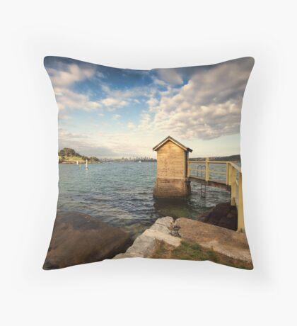 Camp Cove  Throw Pillow