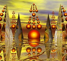 Fairyland of Pearling Pyramids by Lemarly