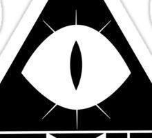 Bill Cipher Black Sticker