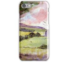 Rock of Cashel Sketch 5 iPhone Case/Skin