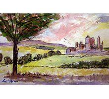 Rock of Cashel Sketch 5 Photographic Print