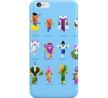 Dragon Ball Characters iPhone Case/Skin
