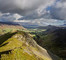Robinson, Newlands Valley, Lake District by Asher Haynes