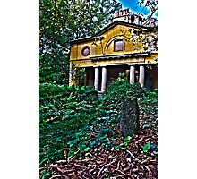 HDR house Photographic Print