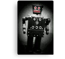 Dark Metal Robot - Oil Canvas Print