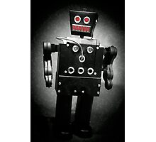 Dark Metal Robot - Oil Photographic Print