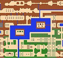 The Legend of Zelda - Overworld by momboy