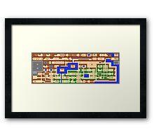 The Legend of Zelda - Overworld Framed Print