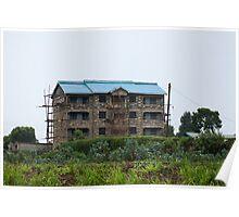 Nairobi building construction Poster