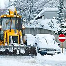Heavy Snow by Kuzeytac