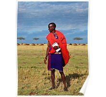 Masai Guide Poster