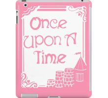 Once Upon A Time in Pink iPad Case/Skin