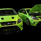 Two Green Focus RS by Vicki Spindler (VHS Photography)