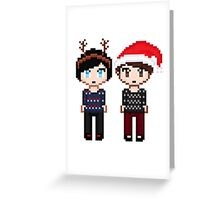 Dan and Phil Xmas Greeting Card