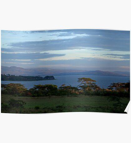 Lake Naivasha Sunrise Poster