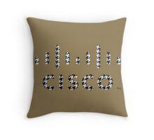 CISCO LOGO HOUNDSTOOTH 2 Throw Pillow
