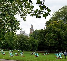 Big Ben from St. James's Park by Sue Robinson