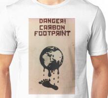 Danger, Carbon Footprint ( ii ) Unisex T-Shirt
