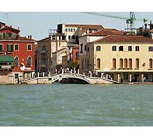 Bridge in Venice Photographic Print