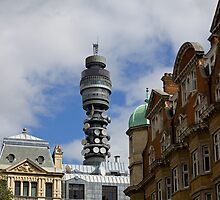 BT Tower in London by Sue Robinson