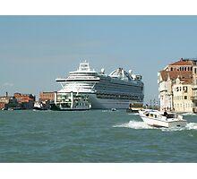 Cruise to Venice Photographic Print
