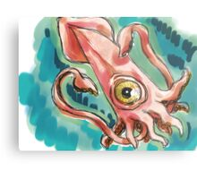 Lovecraft Hated Seafood Metal Print