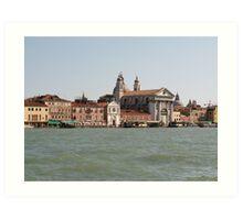 Street of Venice Art Print