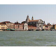 Street of Venice Photographic Print
