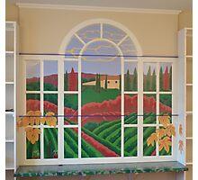 Tuscan Vineyard Mural Photographic Print