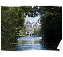 Whitehall from St. James's Park Poster