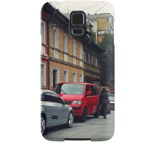 The Street and the cars Samsung Galaxy Case/Skin
