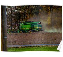 Dusty farming  Poster