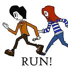 11th, Amy and Rory, RUN! by KidW25