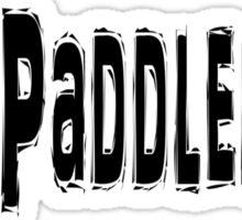 Paddleball Sticker