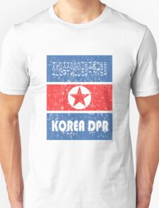 DPR KOREA WORLD CUP FOOTBALL Unisex T-Shirt