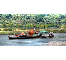 Paddle Steamer Kingswear Castle Photographic Print