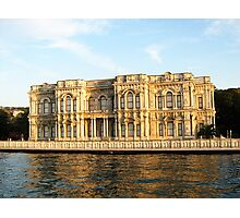 a building at the bosphorus bank. Photographic Print