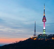 Namsan Seoul by StavvioD