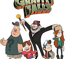 Gravity Falls by c7ybaby