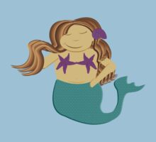 Chubby Mermaid Kids Tee