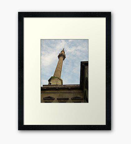 minaret. Framed Print